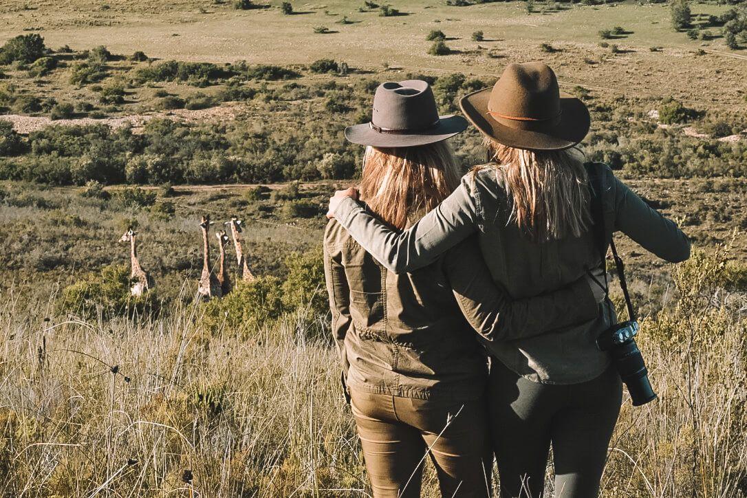 Besties on Safari