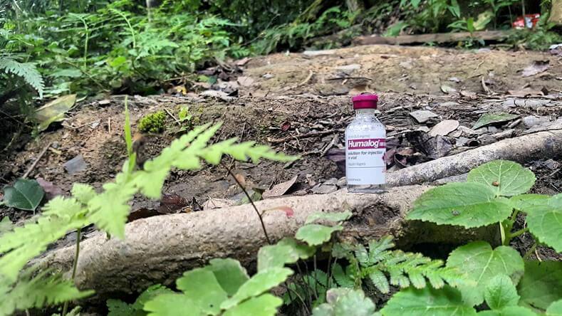 managing type 1 diabetes while hiking