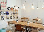 coffee shop in lisbon, portugal