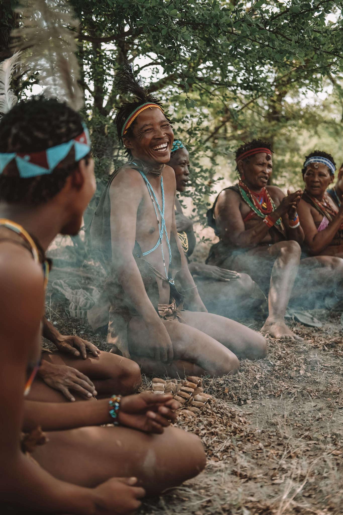 Men in Botswana