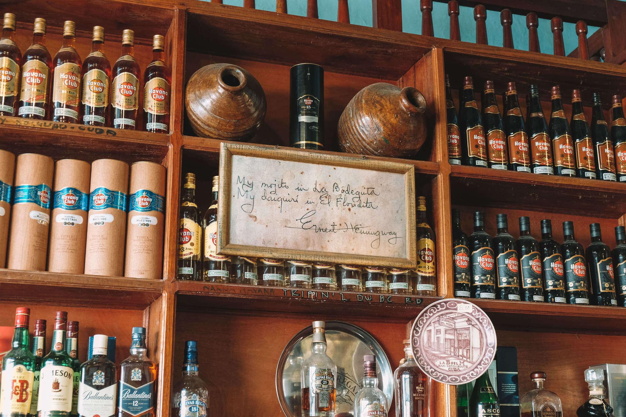 Rum in Havana
