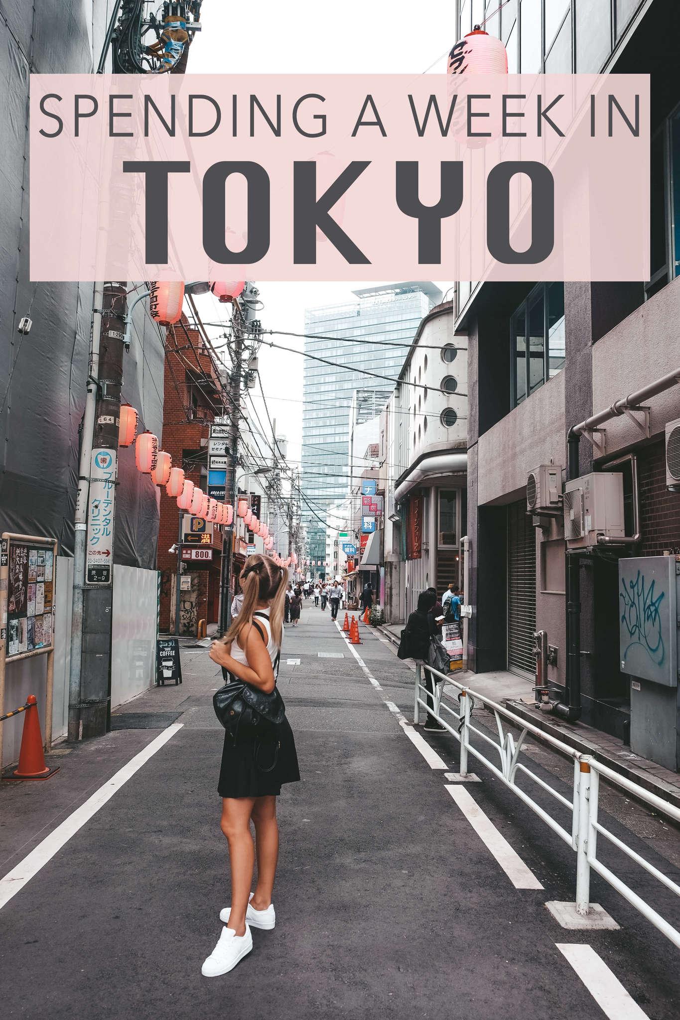 Spending a Week in Tokyo