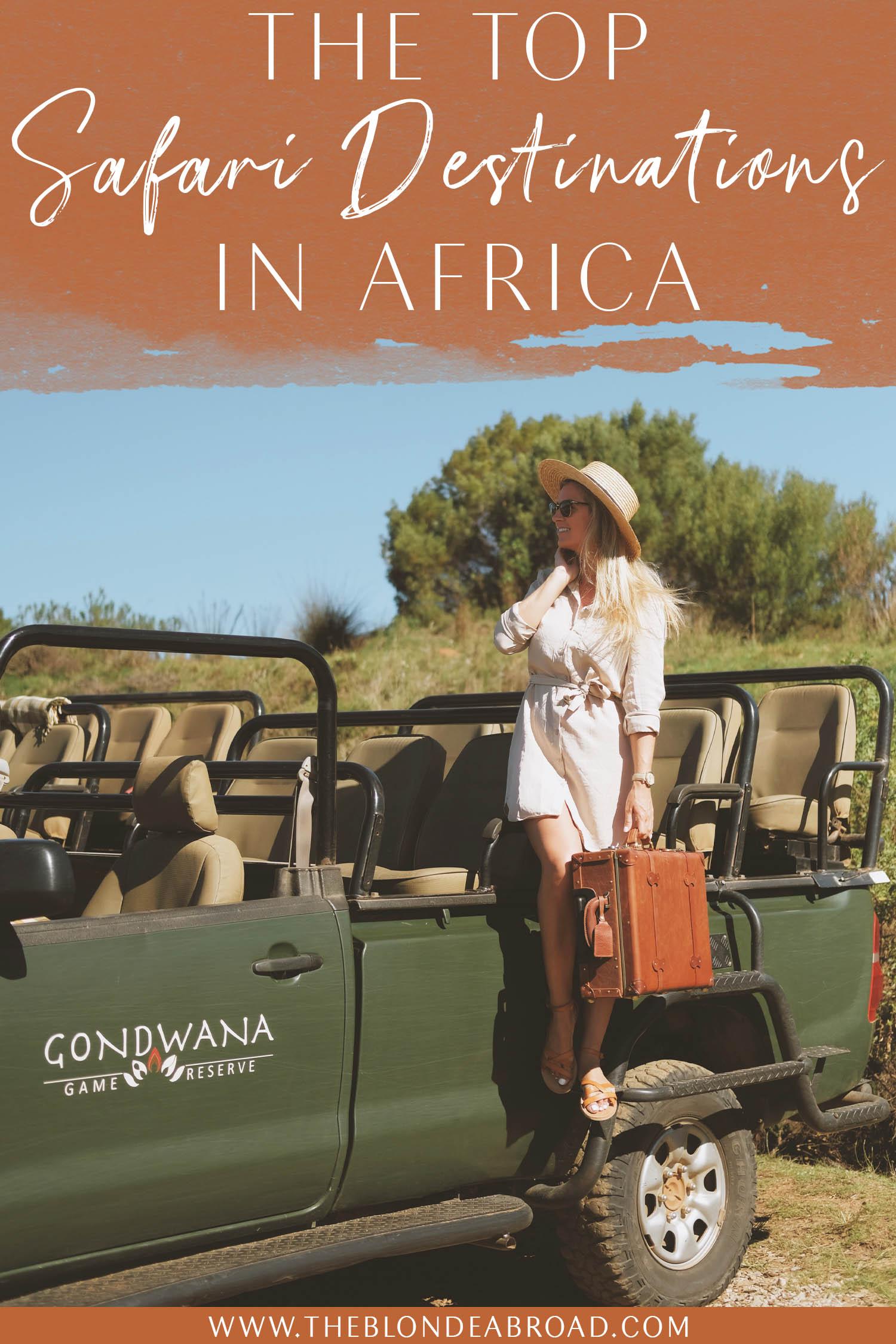 Top Safari Destinations in Africa
