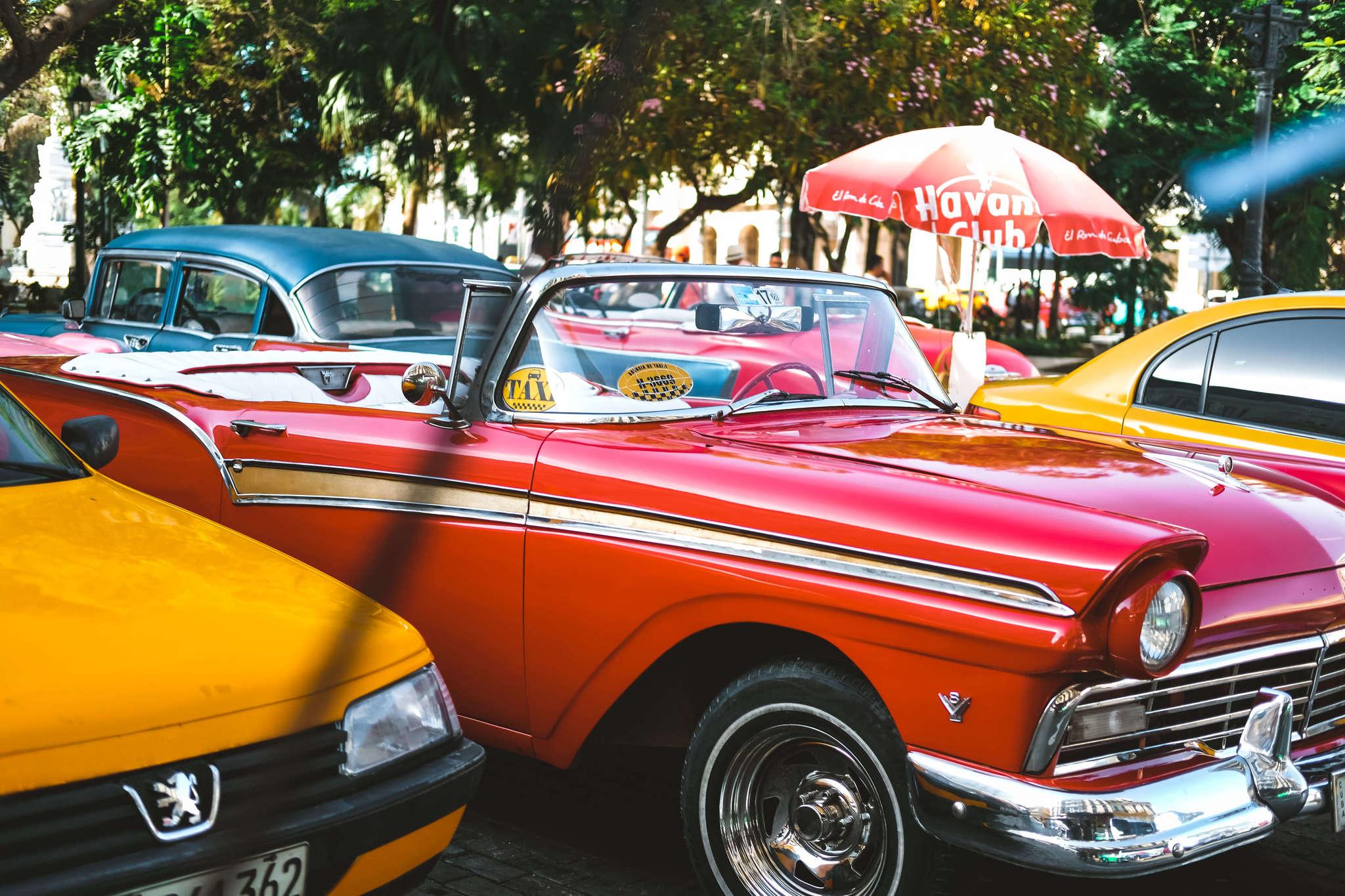 cars in Havana, Cuba