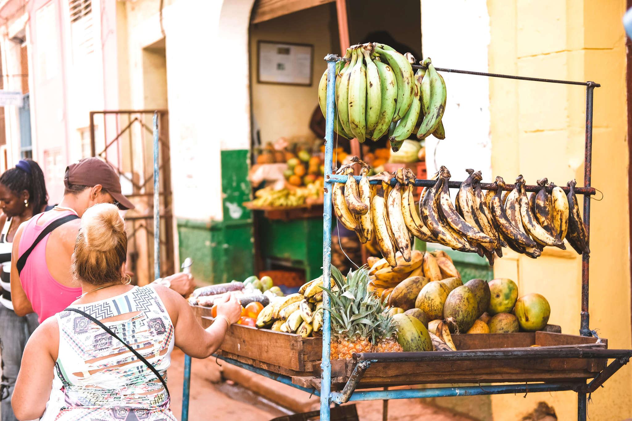 fruit in Havana, Cuba