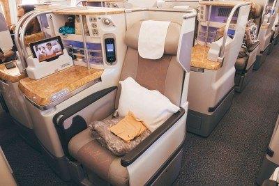 Seating on Emirates