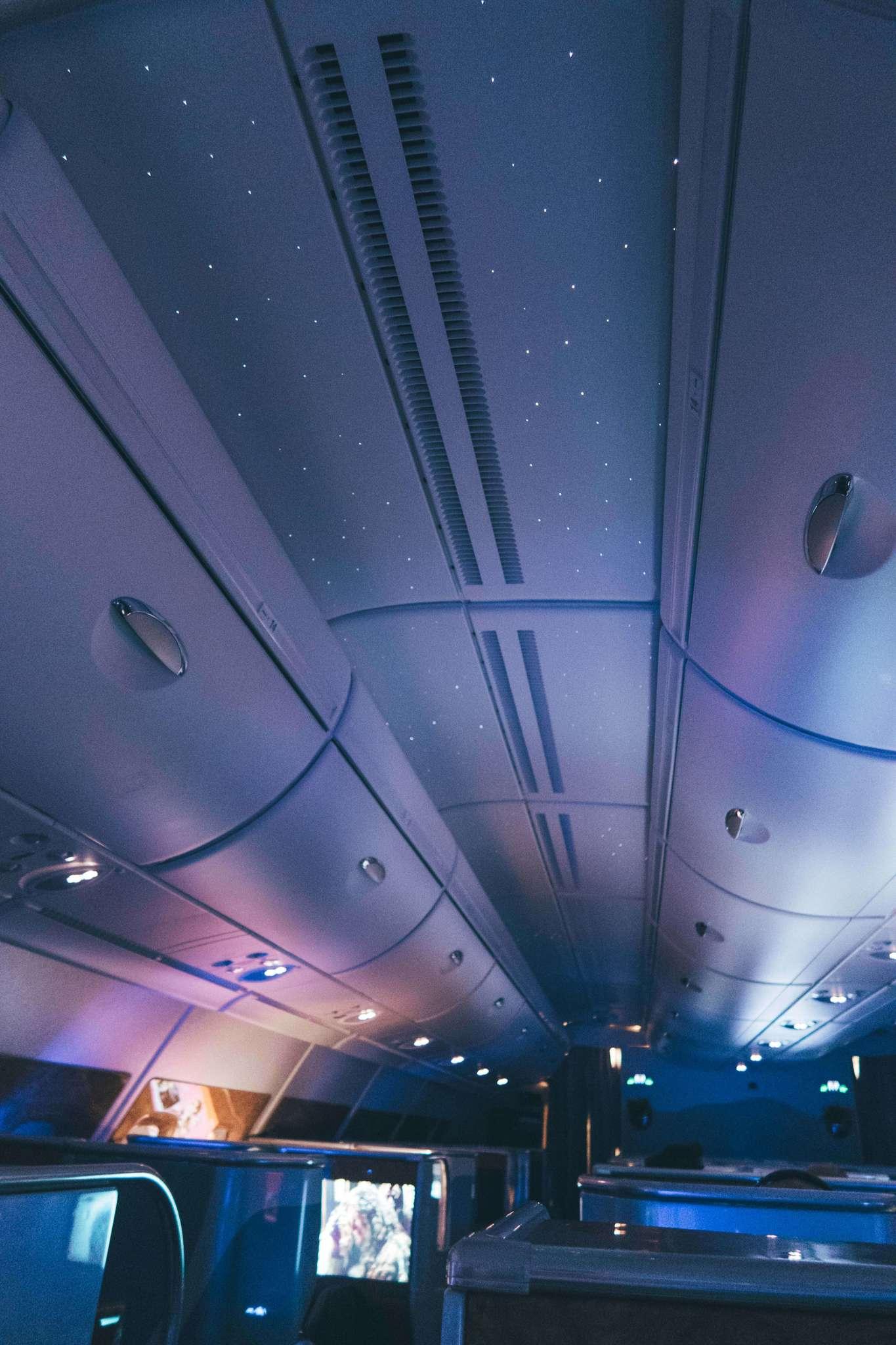 Ceiling on Emirates