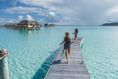 Dock in French Polynesia