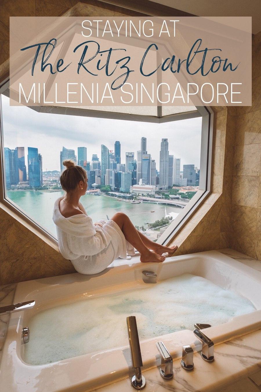 Staying at the Ritz-Carlton Millenia Singapore