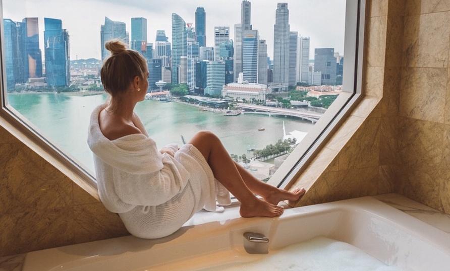 Staying at The Ritz-Carlton, Millenia Singapore