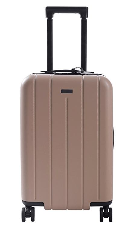 Cute Beige Luggage Spinner Luggage