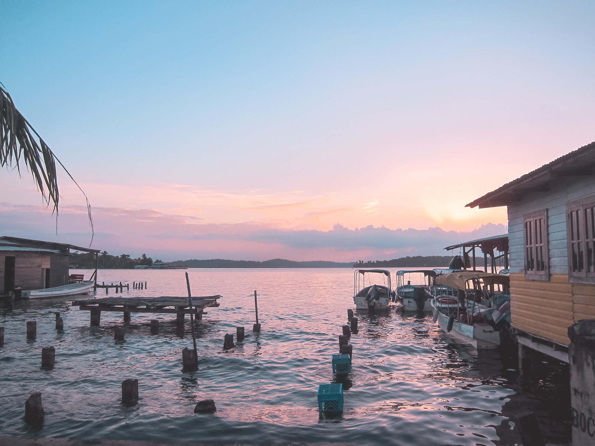 Sunset in Panama