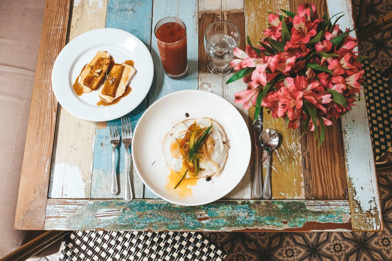 Breakfast in Panama City
