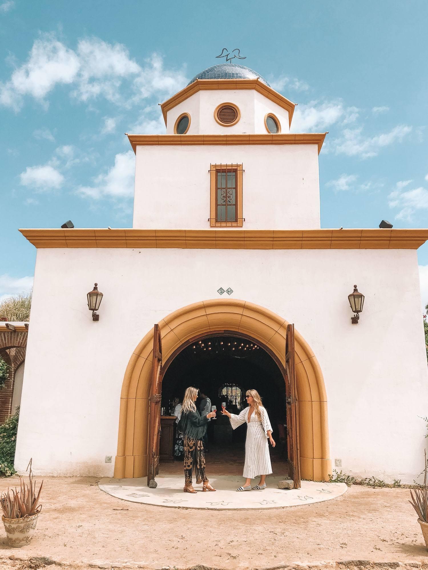 Degustação de vinhos de amigos em Valle de Guadalupe
