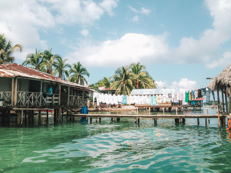 Seaside in Bocas Del Toro