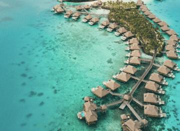 Staying at Conrad Bora Bora Nui