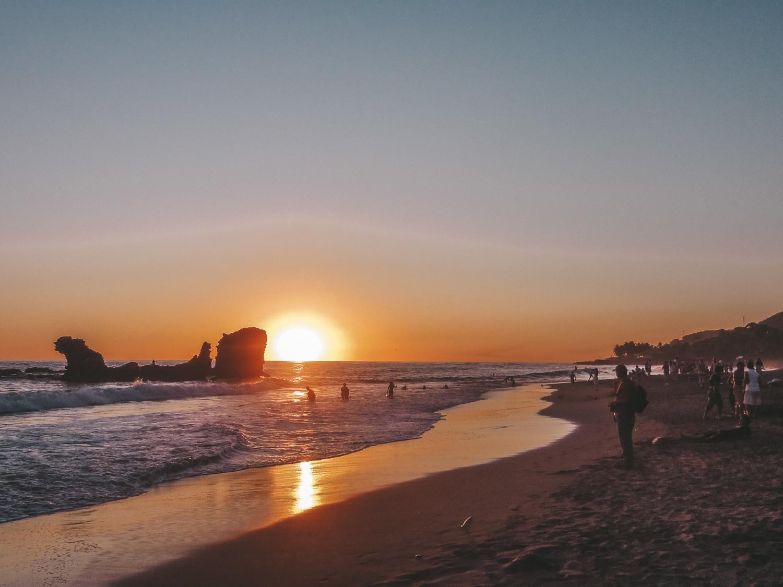 Playa El Tunco, El Salvador.