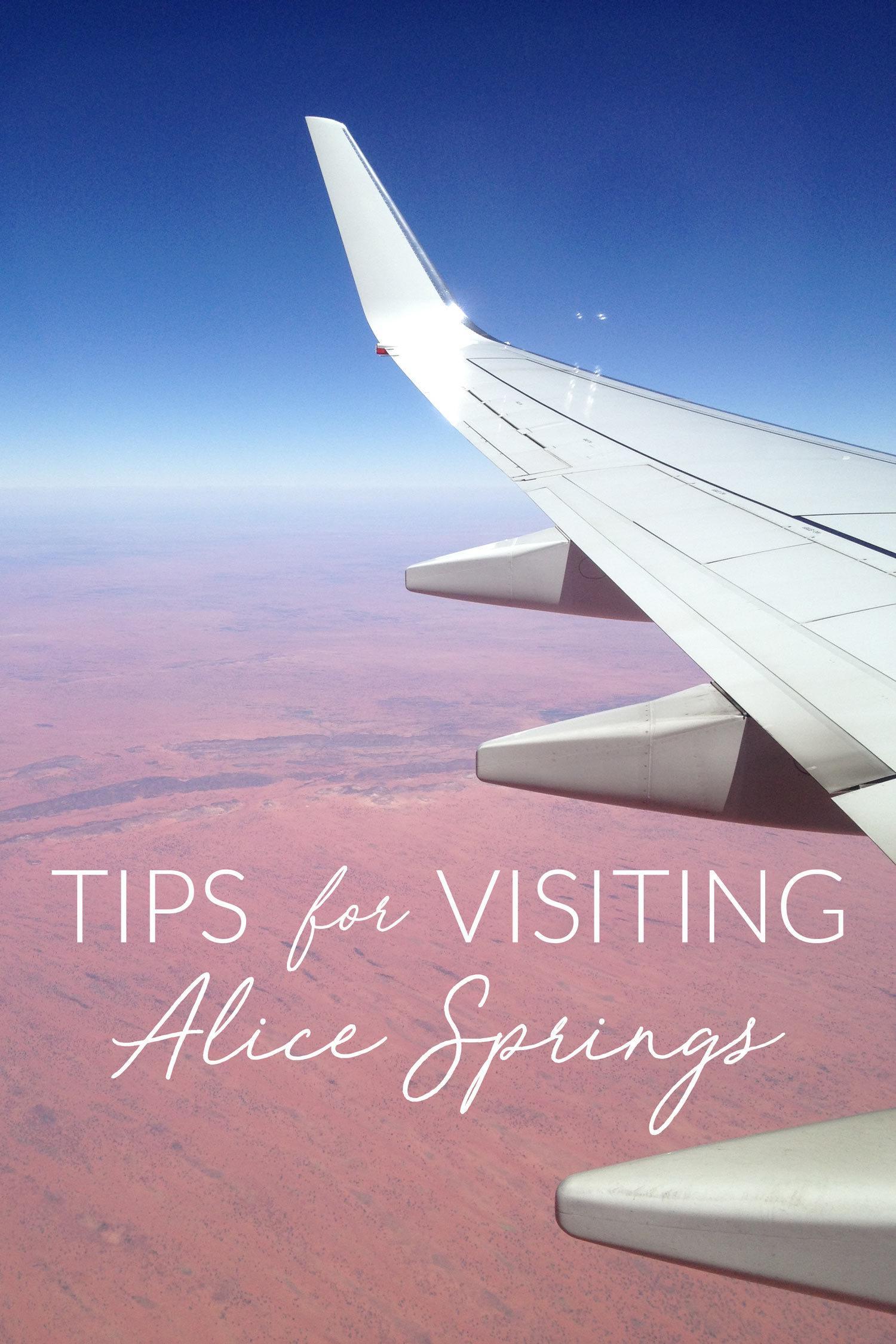 Visiting Alice Springs