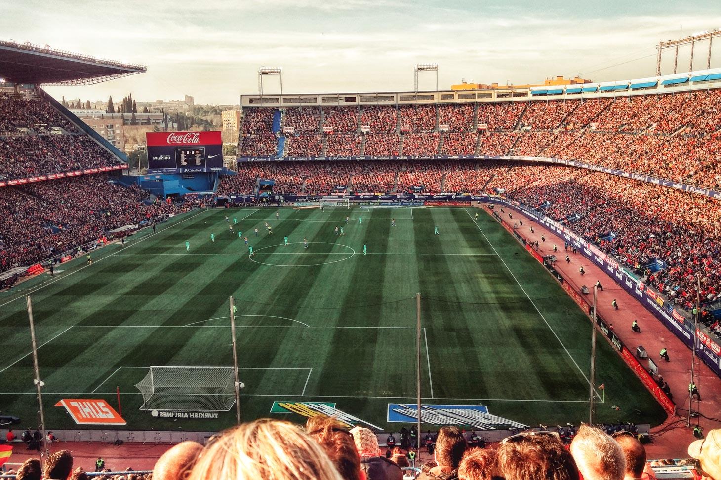 Game of Futbol in Madrid