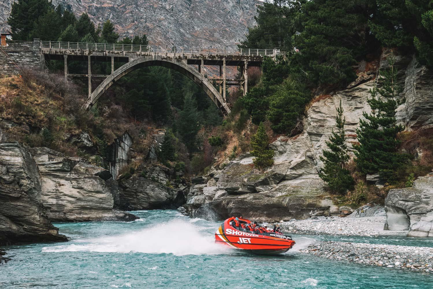 Queenstown New Zealand Jet Boat