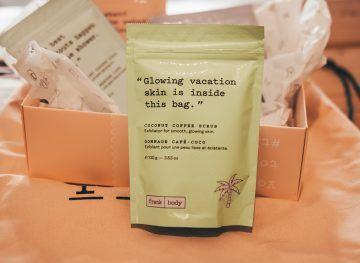 Coffee Scrub for Travel