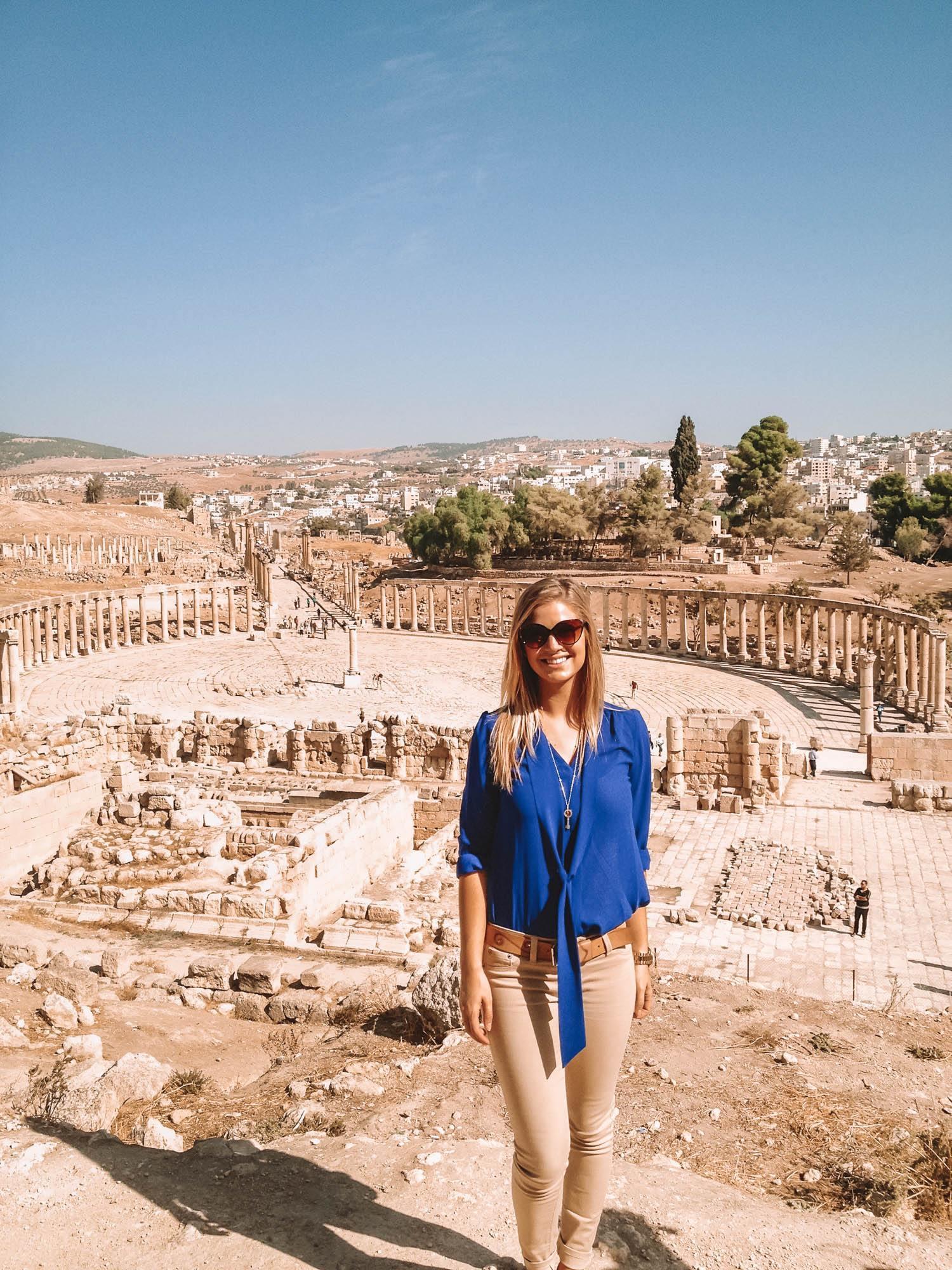ruins near Amman, Jordan
