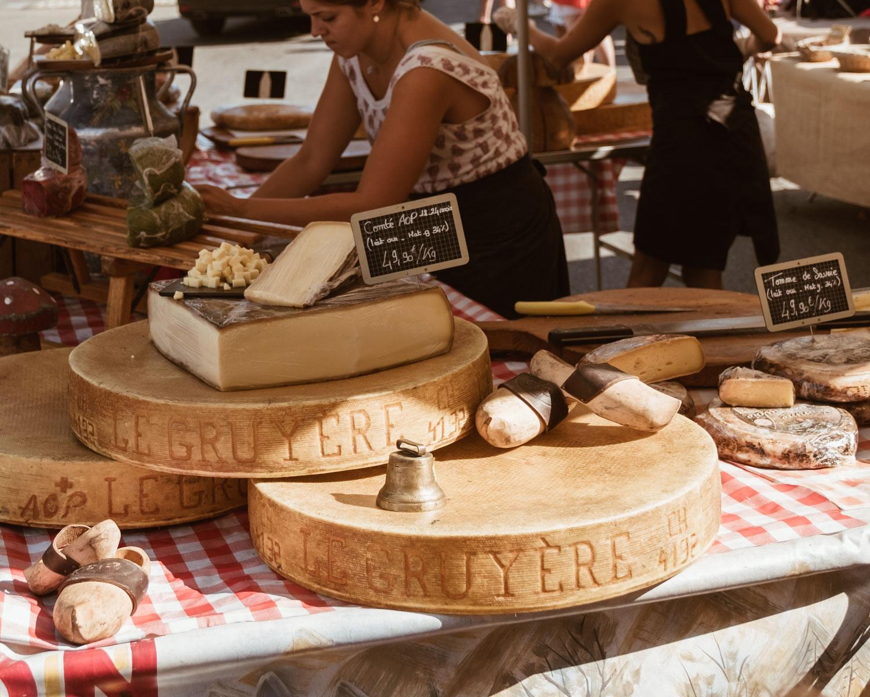 Gordes Market Cheese