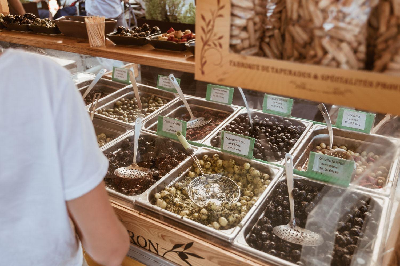 Gordes Market Olives