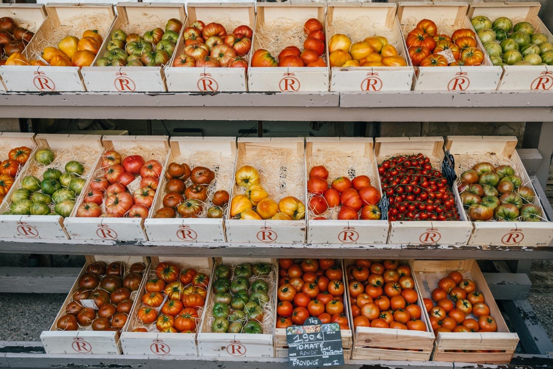 Gordes Market Tomatoes