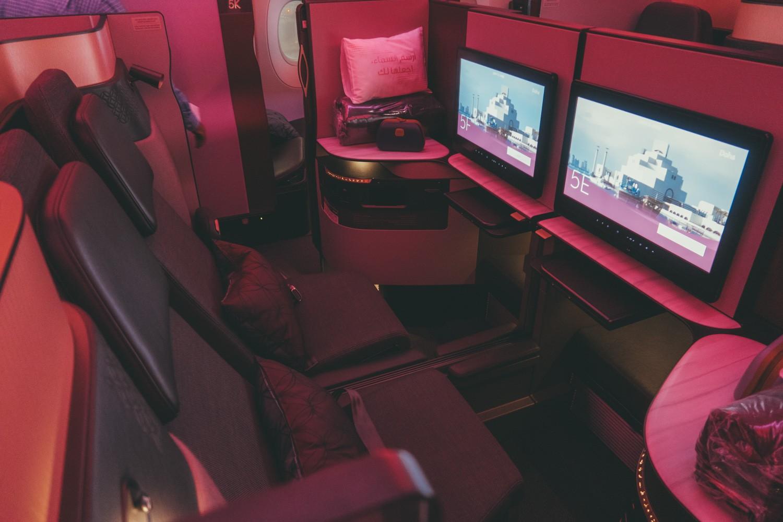 Q Suite Middle Seats