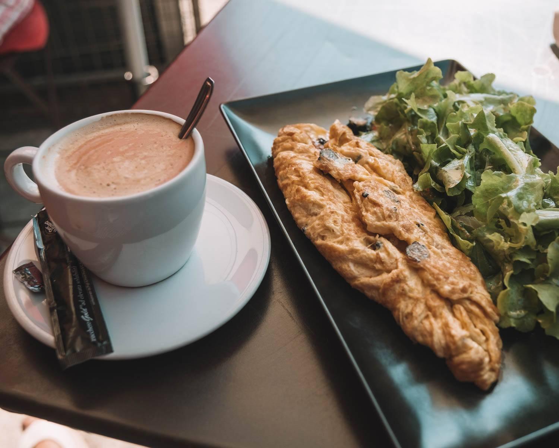 cafe in Gordes, France