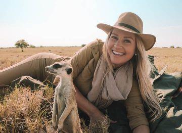 Meerkat in Botswana
