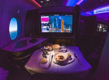 Qatar Airways Q Suites Business Class A350 Flight Review