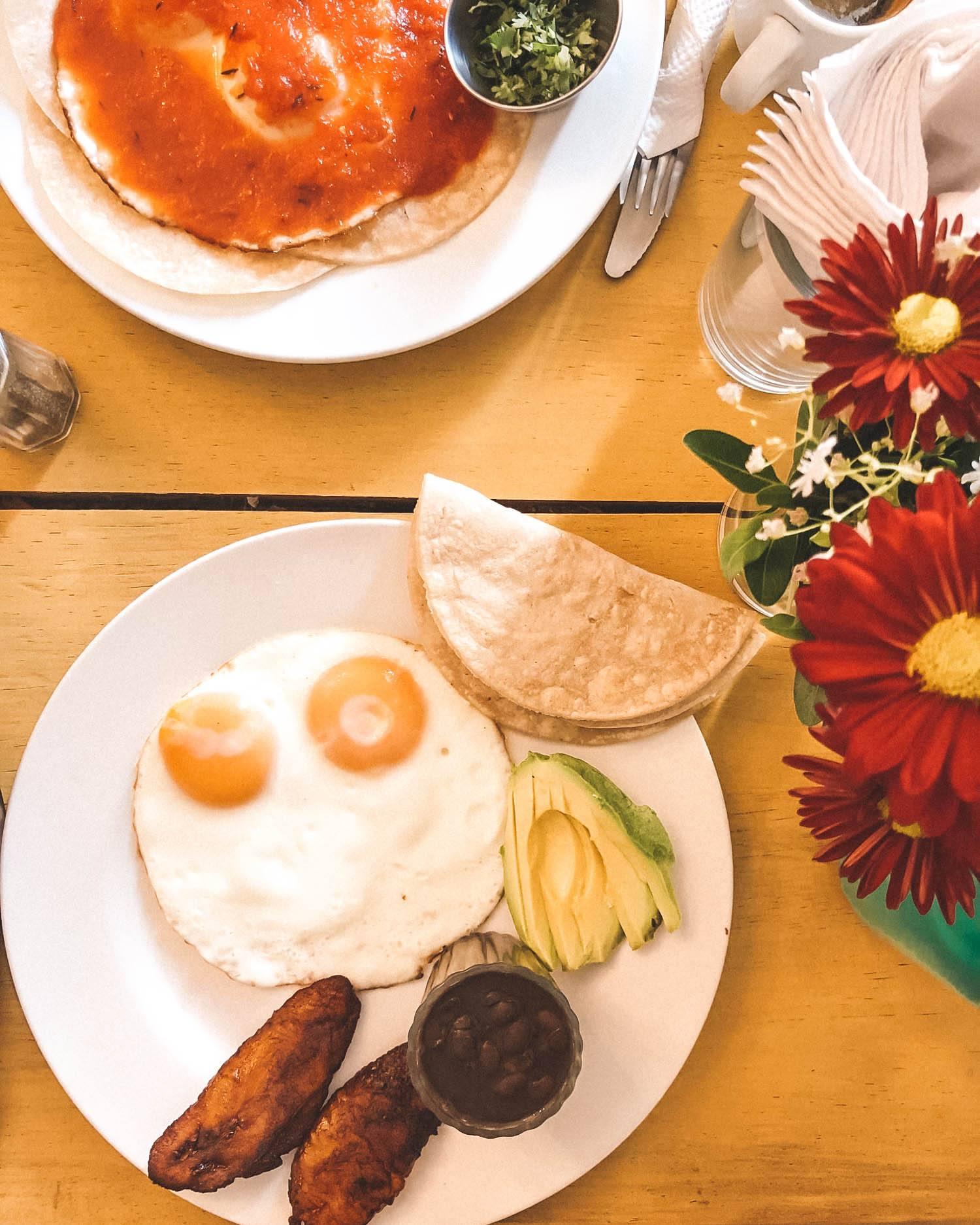 breakfast in antiqua