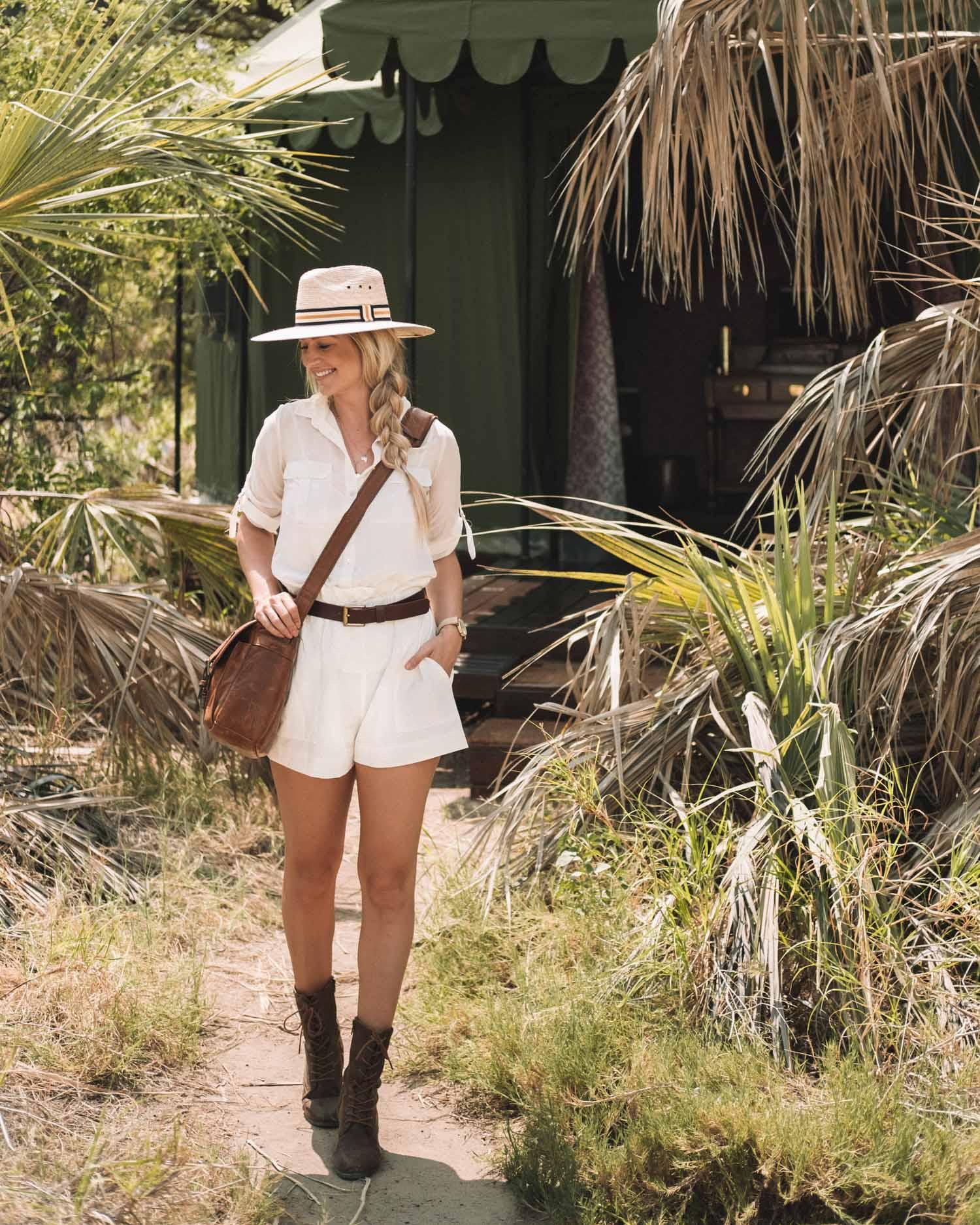 safari outfit in Botswana