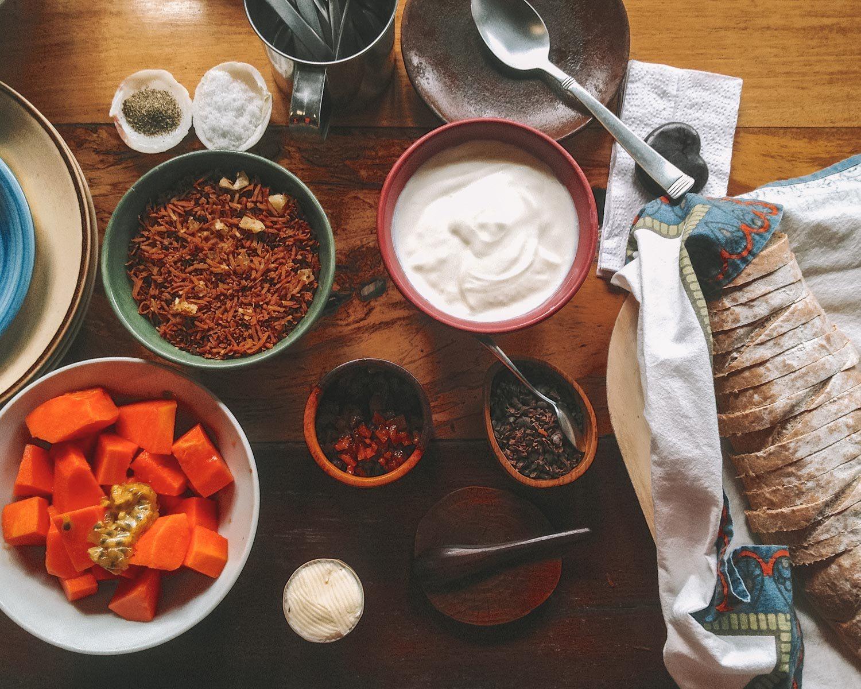 food in panama