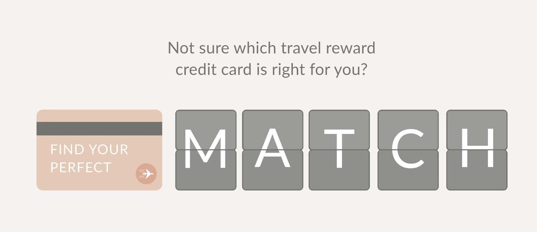 Travel Reward Credit Card Match Tool
