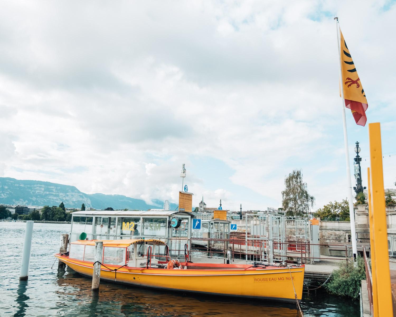 boat in geneva
