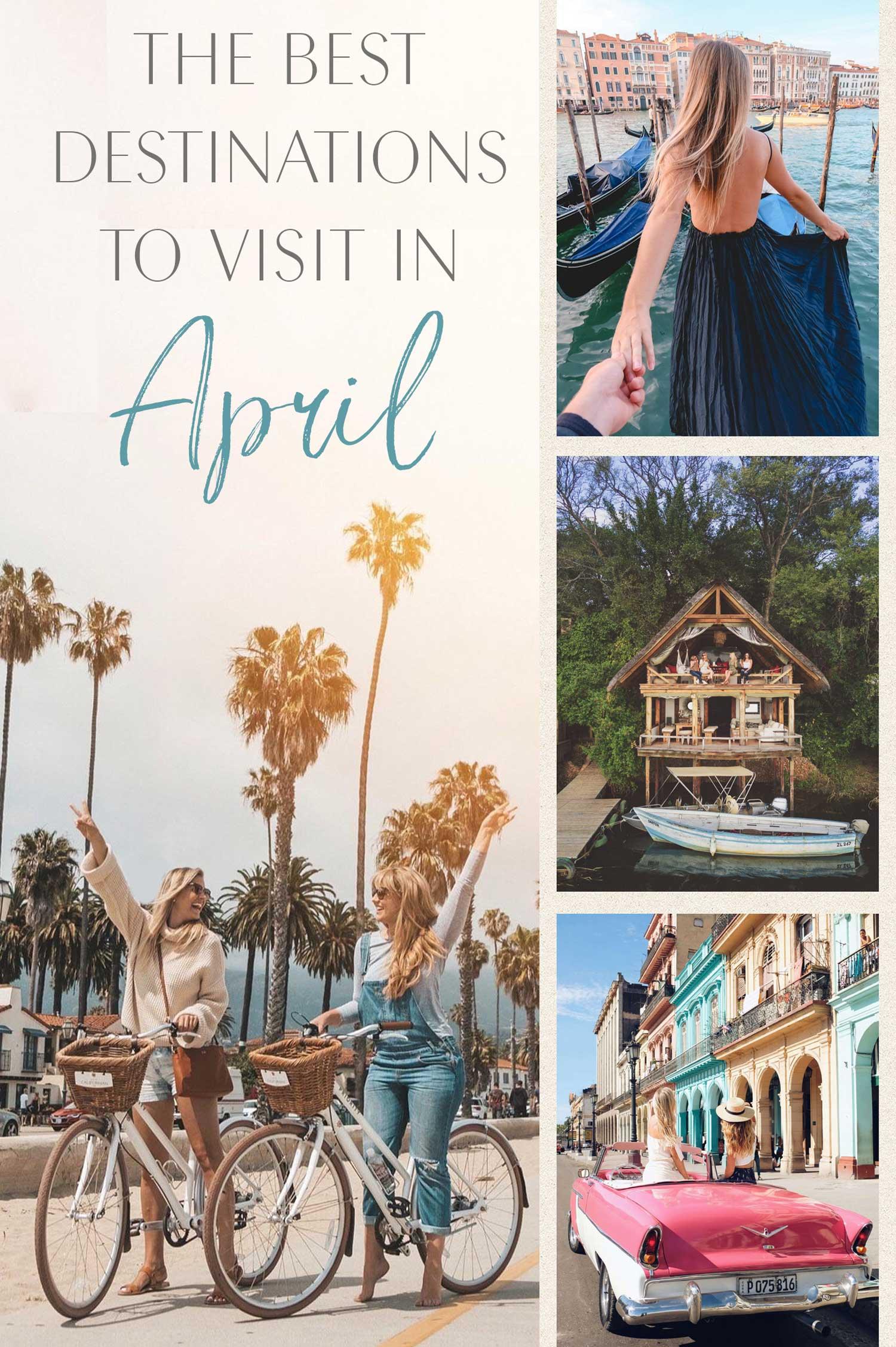 best-destinations-to-visit-in-april ▷ Los mejores destinos para viajar en abril
