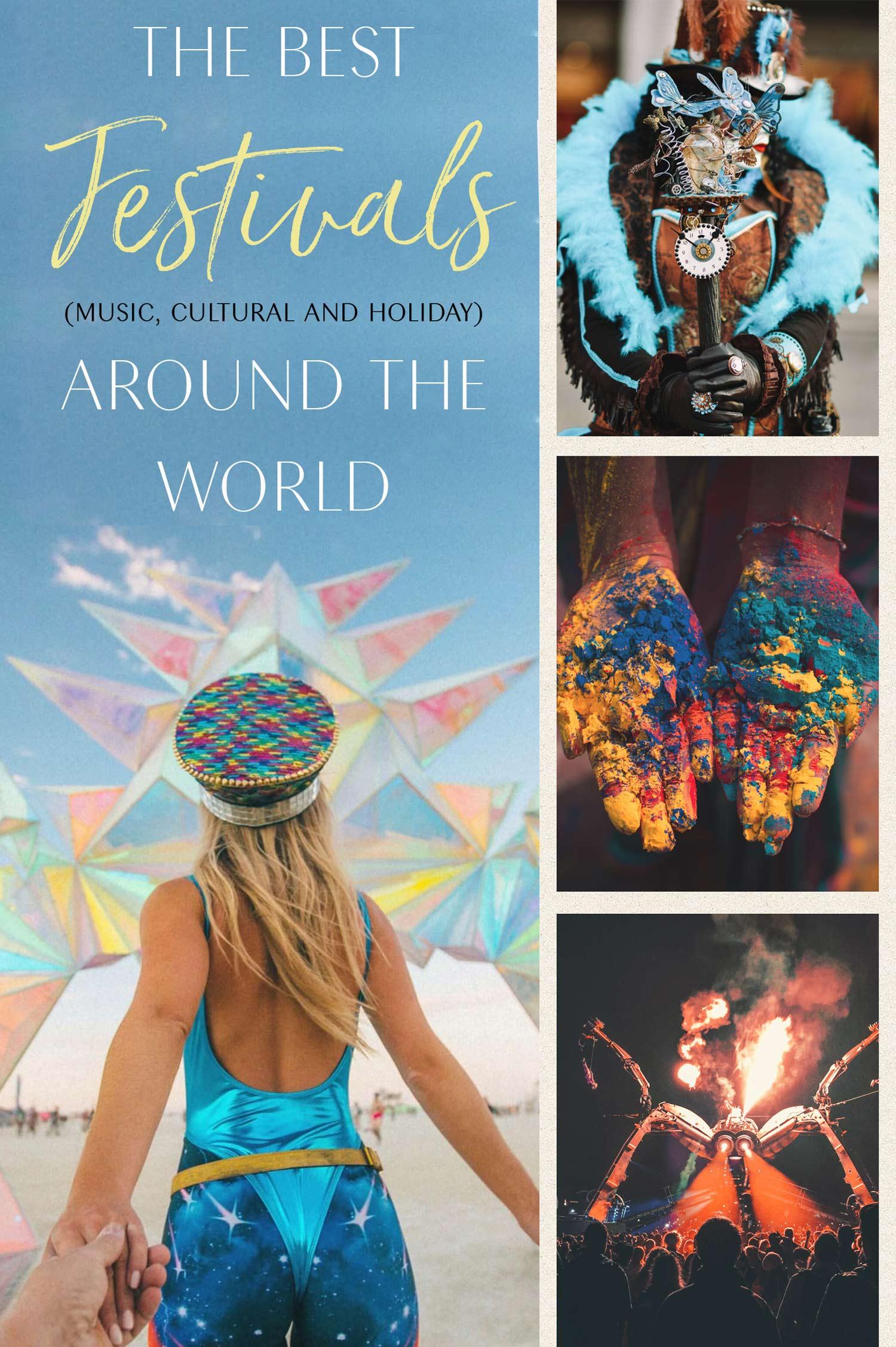 the best festivals around the world