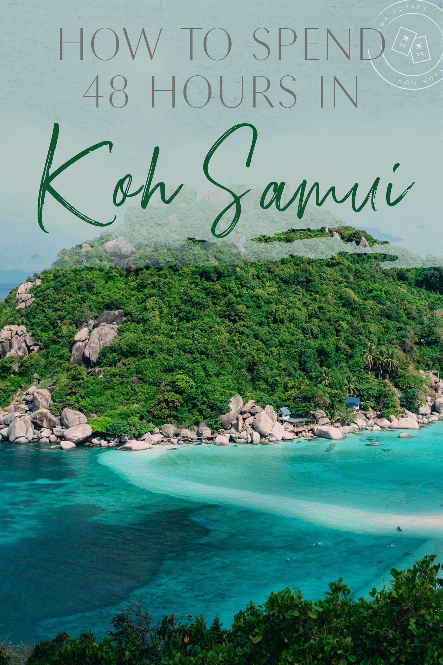 koh-samui ▷ Cómo pasar 48 horas en Koh Samui