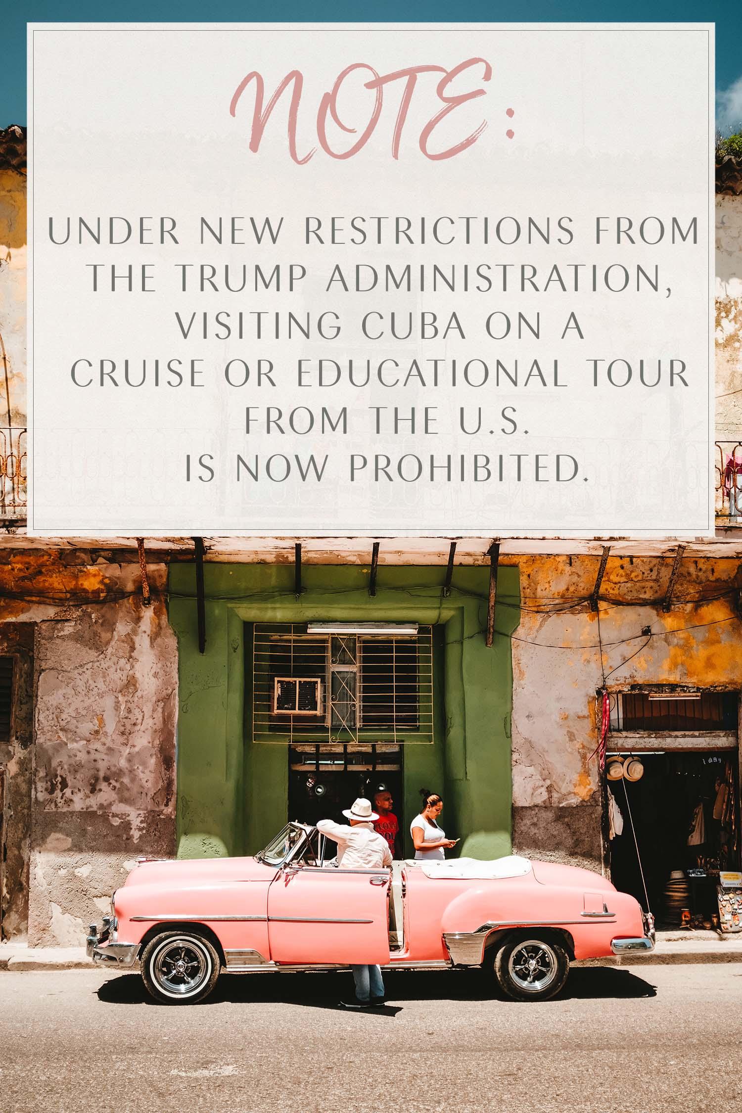 Cuba Ban