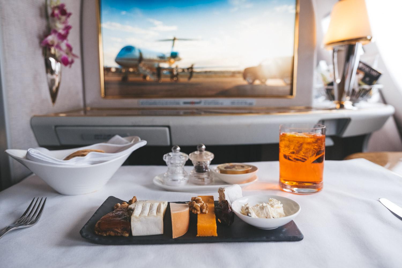 Emirates Dubai Airline Food
