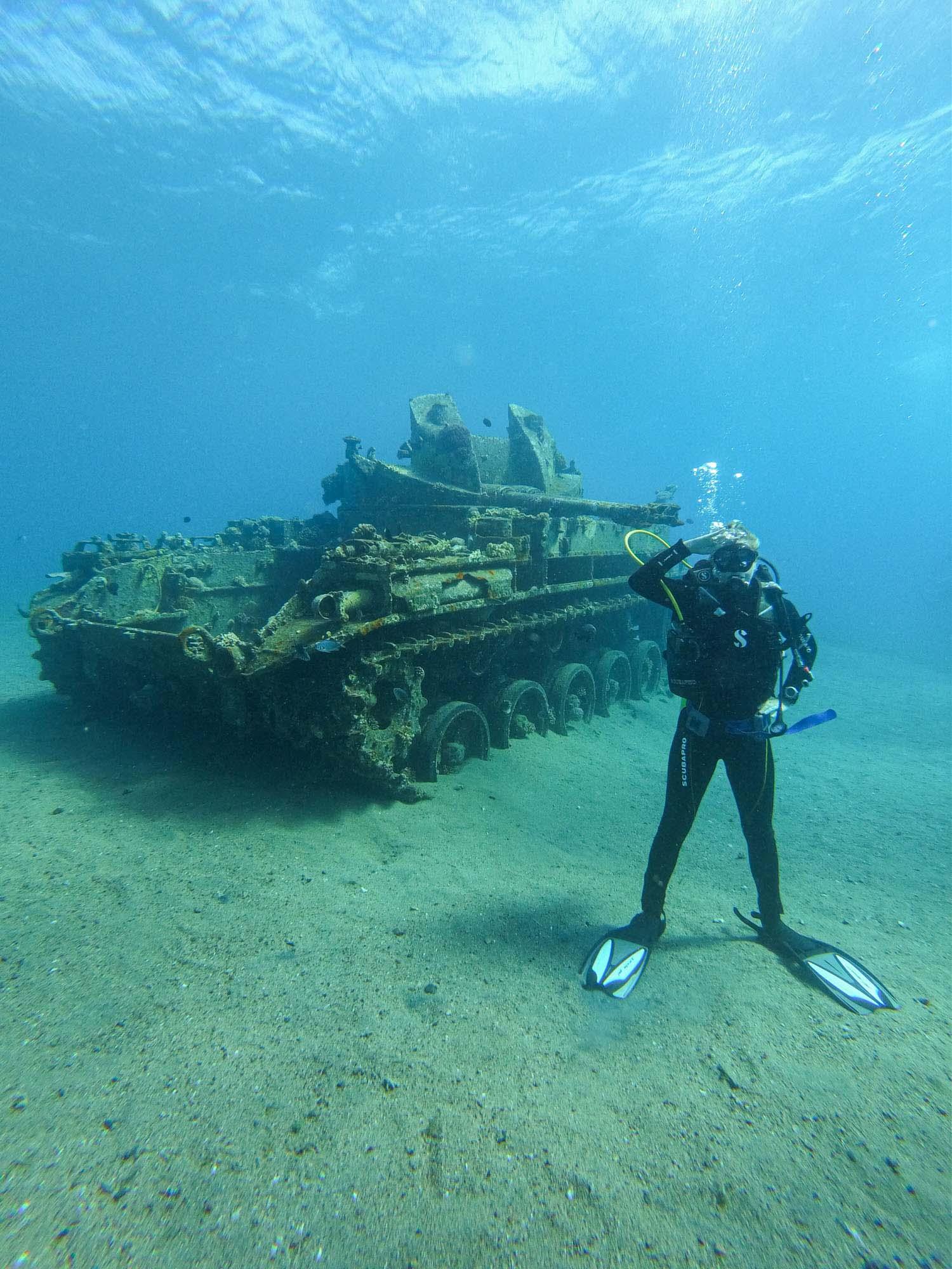 aqaba scuba diving jordan