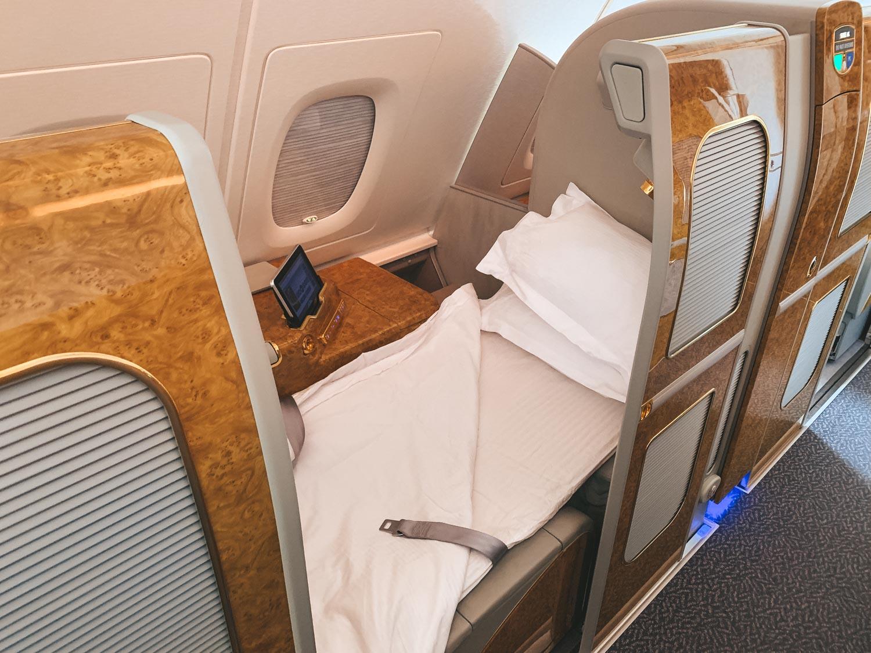 Emirates Dubai First Class Airline Seat Suite