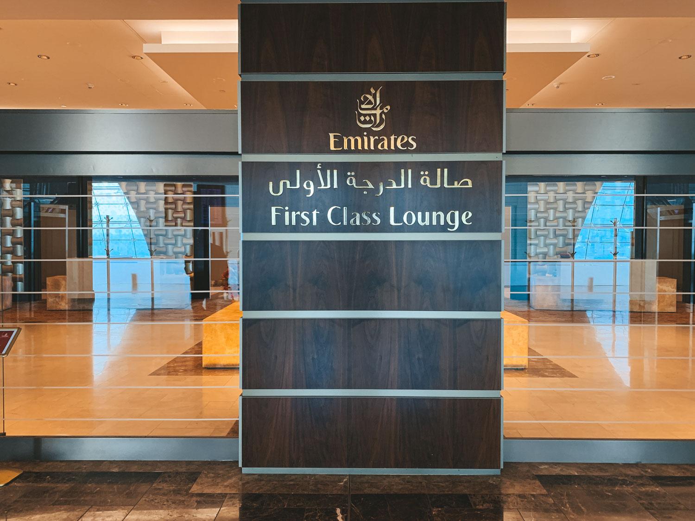 Emirates First Class Dubai Airline Lounge
