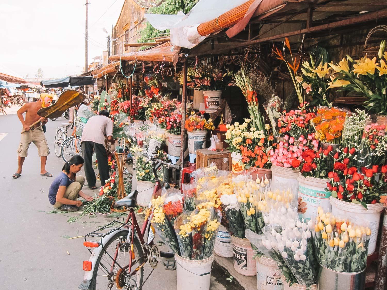 Vietnam Flower Market
