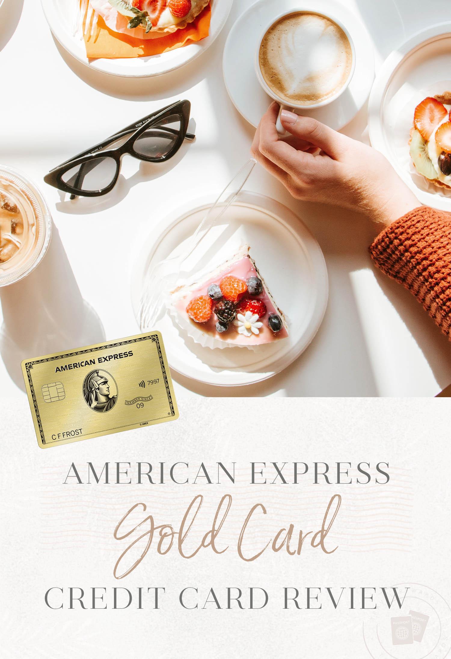 Amex Gold Card Header