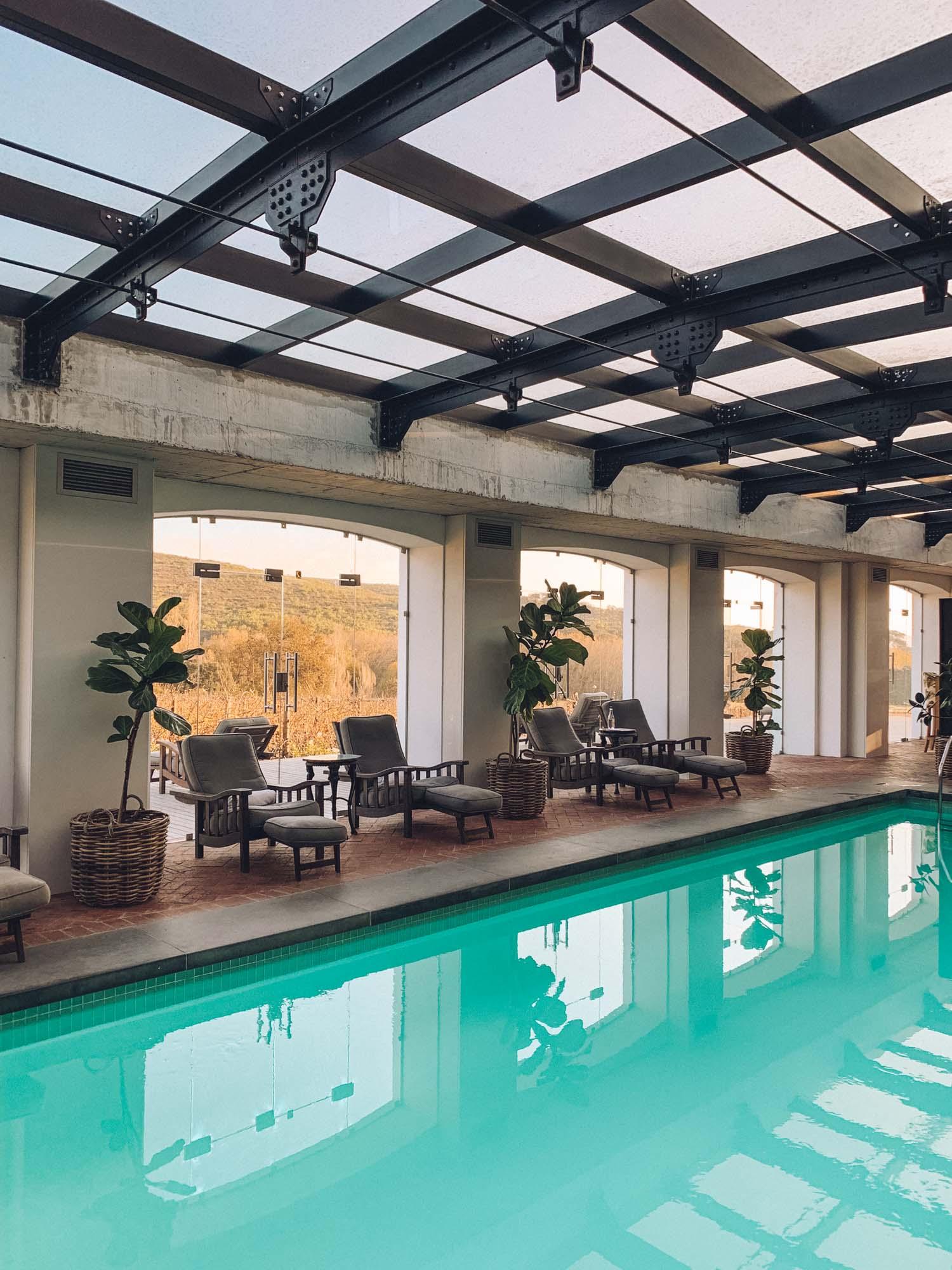 Lanzerac Wine Estate Pool Spa