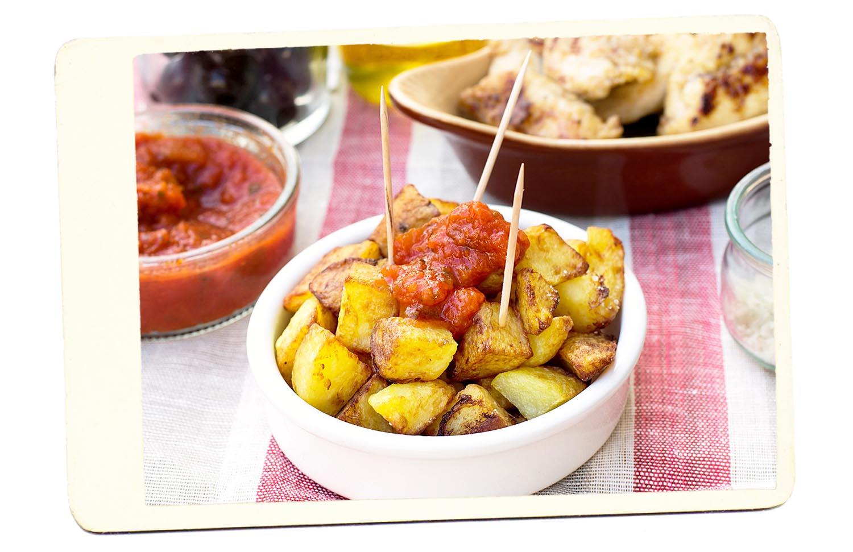 Patatas Bravs Spain Potato Tapa